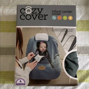 Other - Cozy Cover Infant Carrier Cover, Grey/White